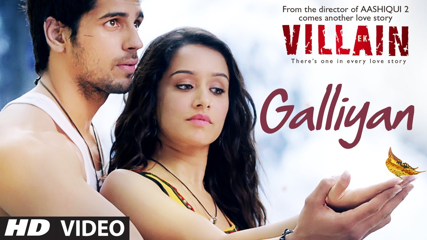 Download free teri galiyan full video song ek villian 3gp, mp4.