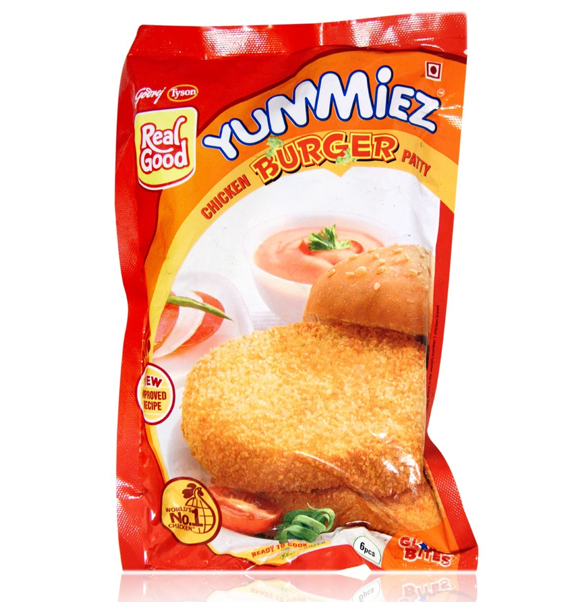 YUMMIEZ CHICKEN BURGER PATTY
