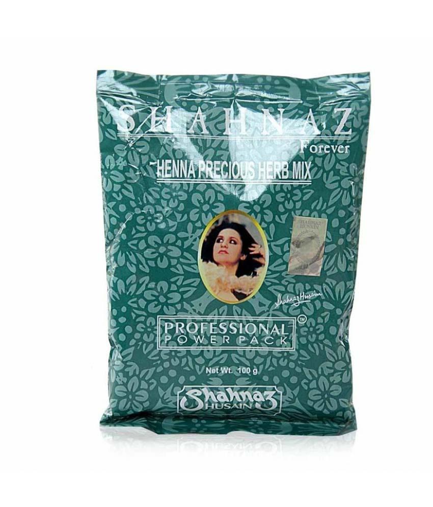 Shahnaz Husain Henna Precious Herb Mix Image