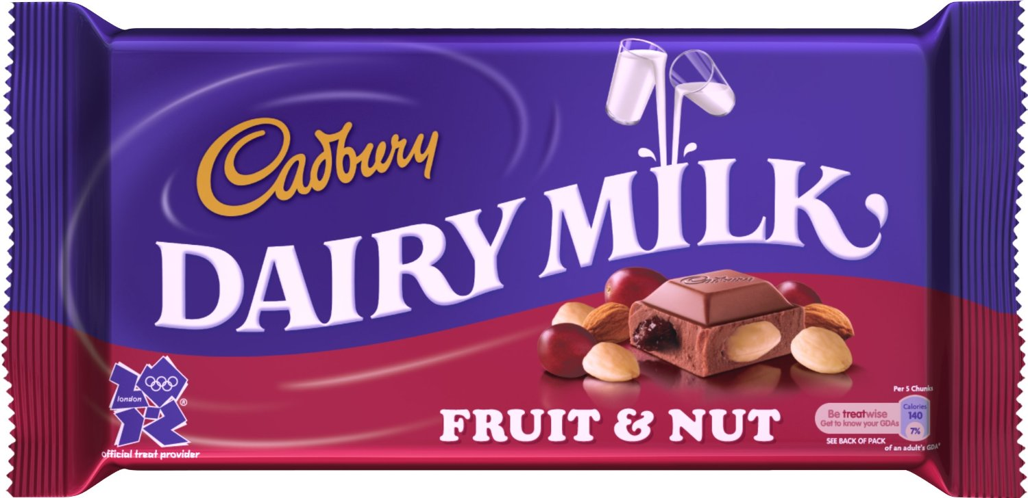 CADBURY DAIRY MILK FRUIT AND NUT Reviews, Ingredients ...