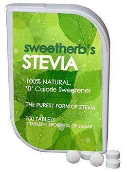 Sweet Herb Stevia Sugar Free Image