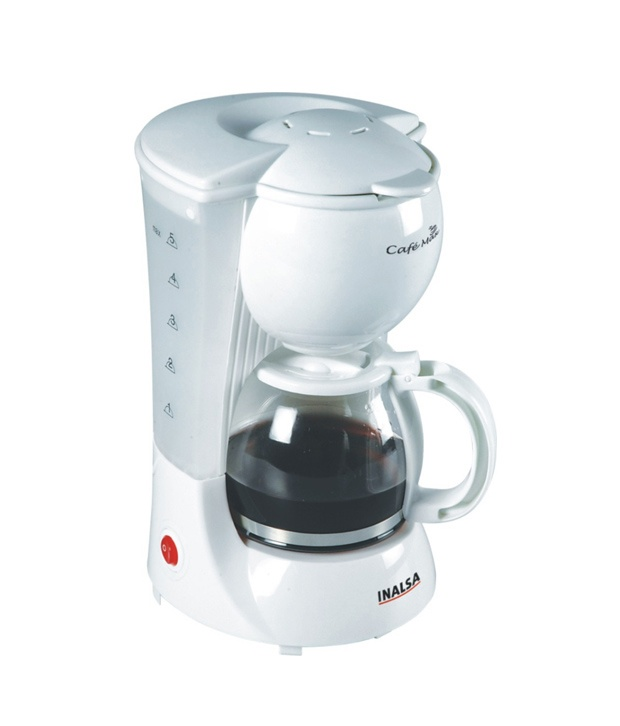 Coffee Maker Reviews 4 Cup : INALSA 4 CUPS CAFEMAX COFFEE MAKER Reviews and Ratings