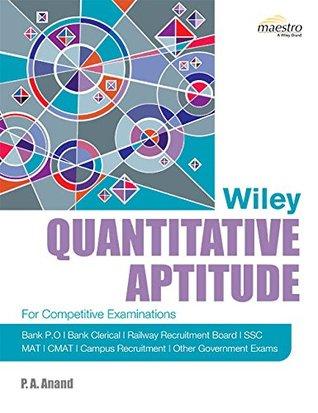 Quantitative Aptitude - PA Anand Image