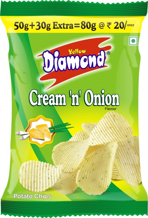 Diamond Cream and Onion Chips Image