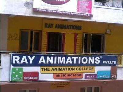 Ray Animation Academy Dilsukhnagar Hyderabad Reviews Address Phone Number Courses