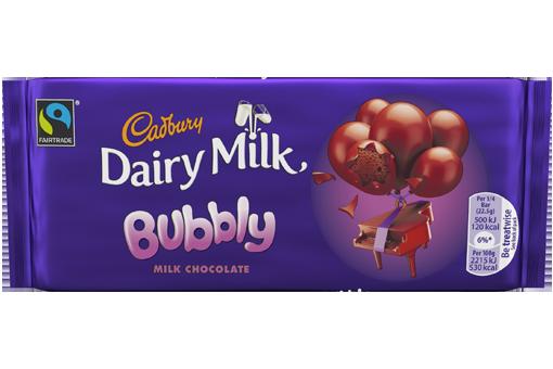 Cadbury Dairy Milk Bubbly Image