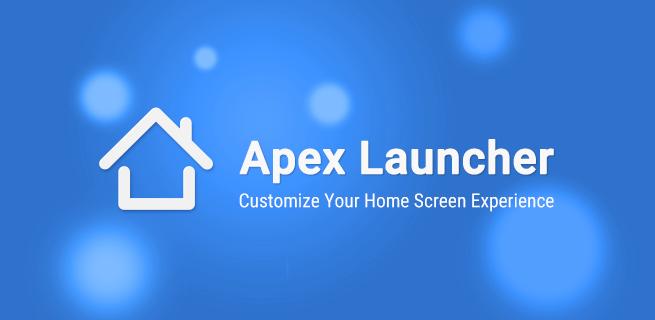 Apex Launcher Image