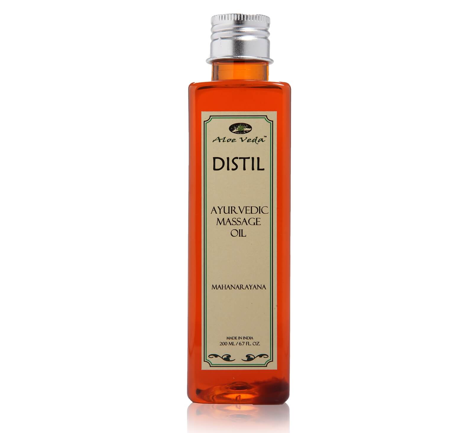 Aloe Veda Distil Ayurvedic Massage Oil Image