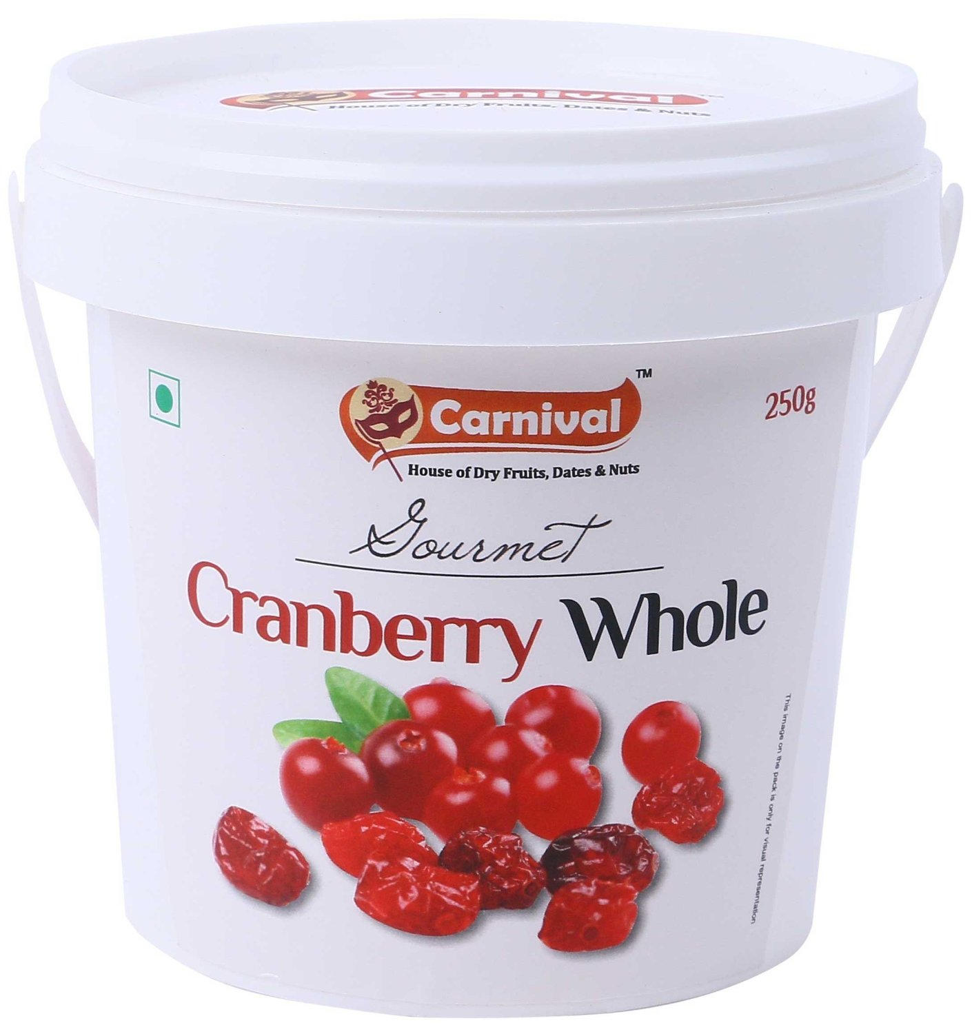 Carnival Cranberry Whole Image