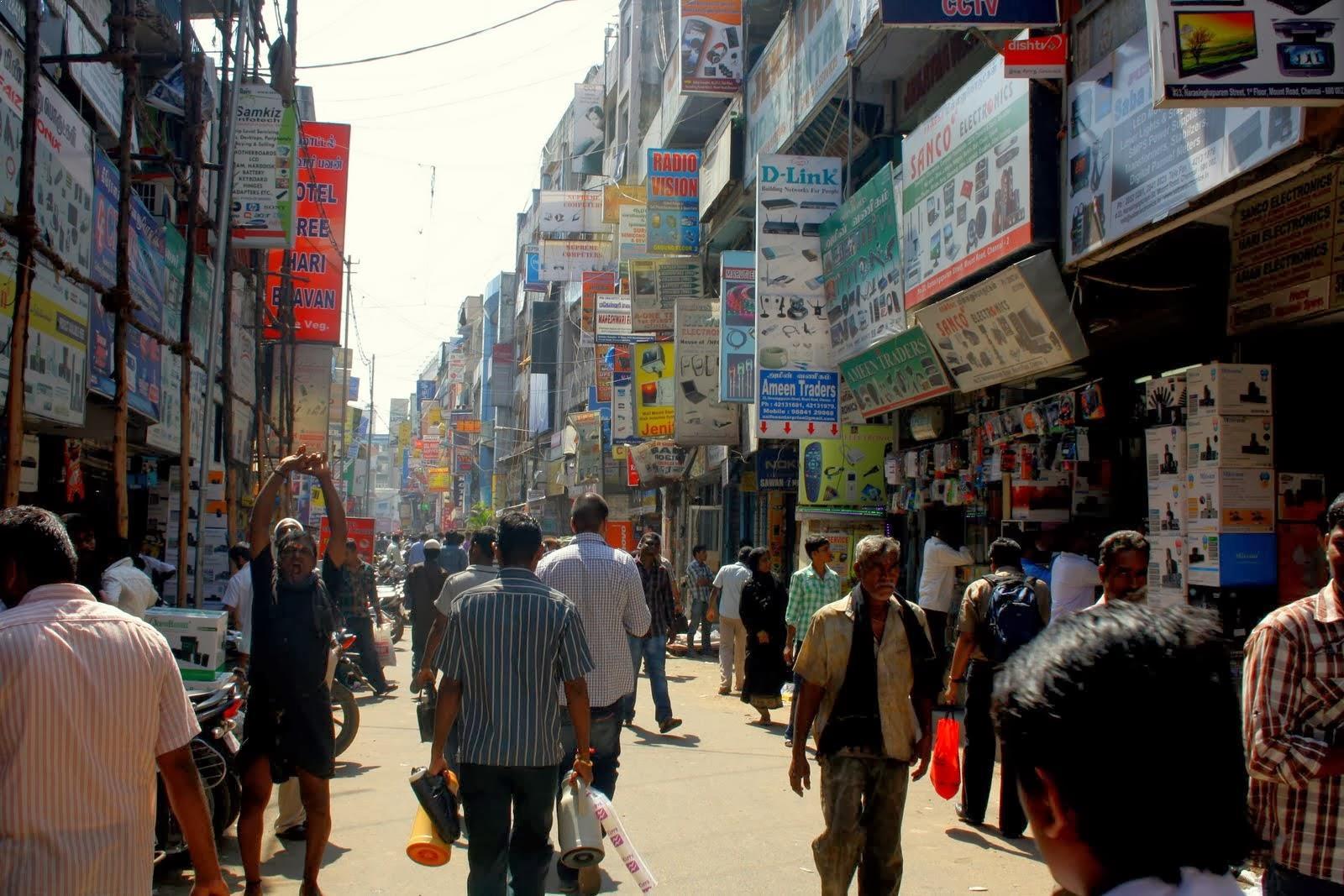 Ritchie Street - Chennai Image