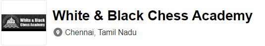 White & Black Chess Centre - Chennai Image