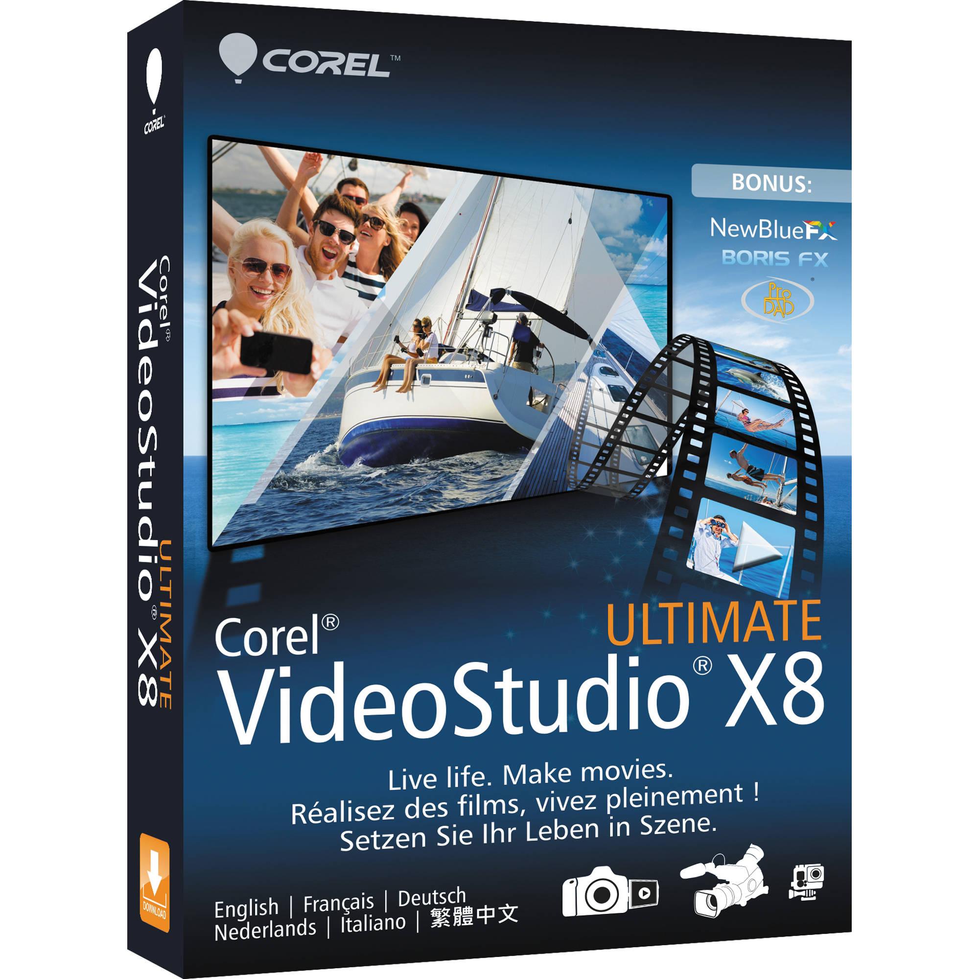 Corel VideoStudio X8 Image