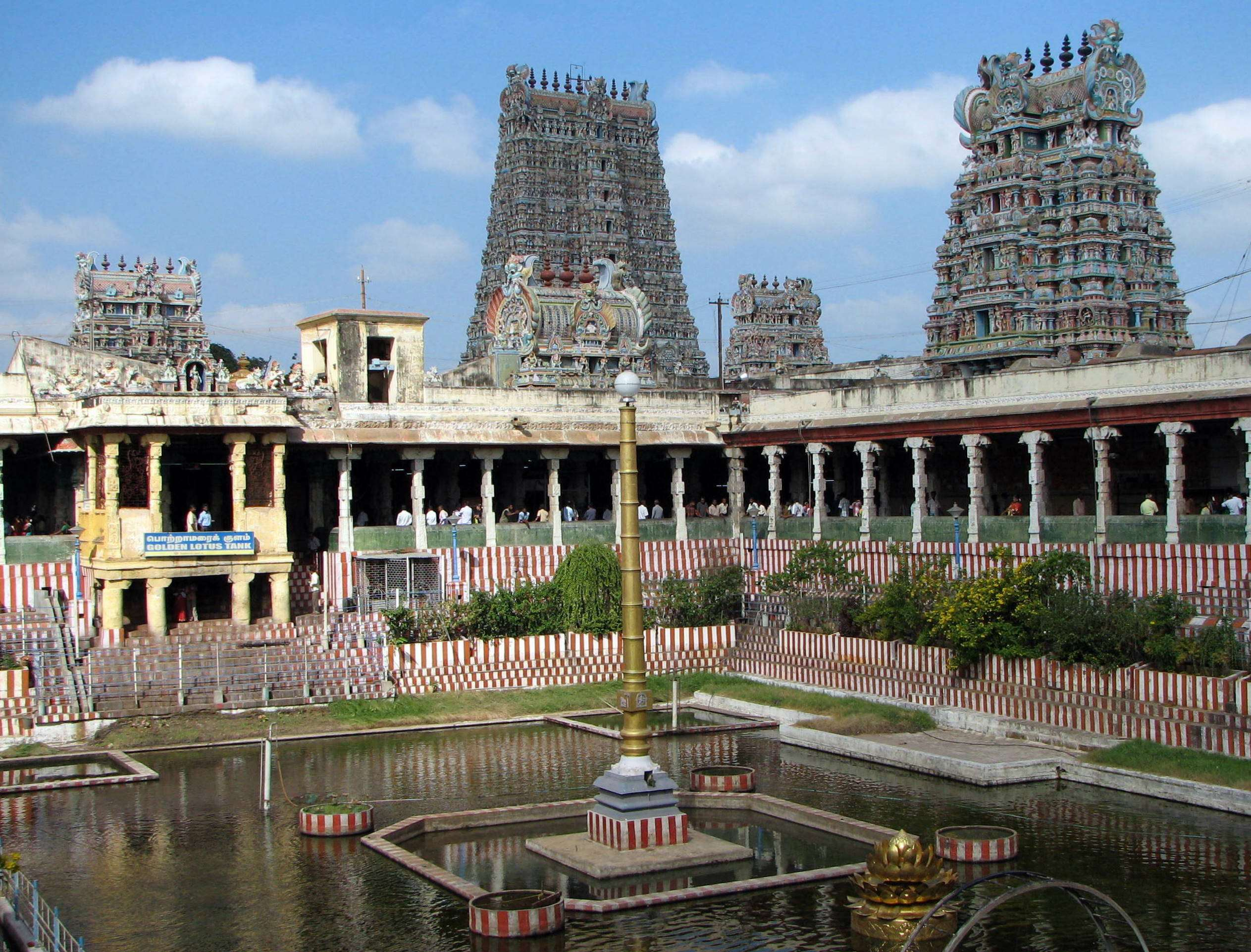 Meenakshi Amman Temple - Madurai Image