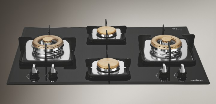 Elica Built in Hobs MFC 4B 70 DX Cooking Stove Image