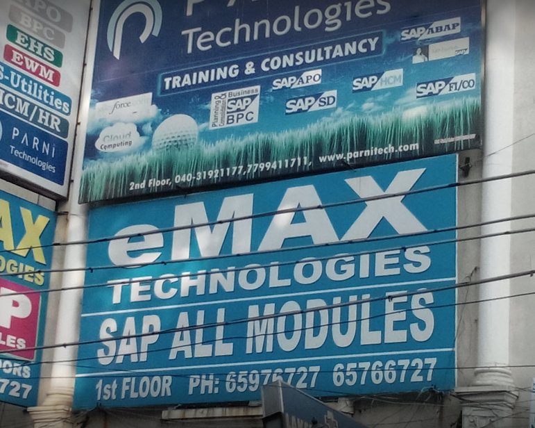Best Place To Complete Sap Course Emax Technologies Ameerpet Hyderabad Consumer Review Mouthshut Com
