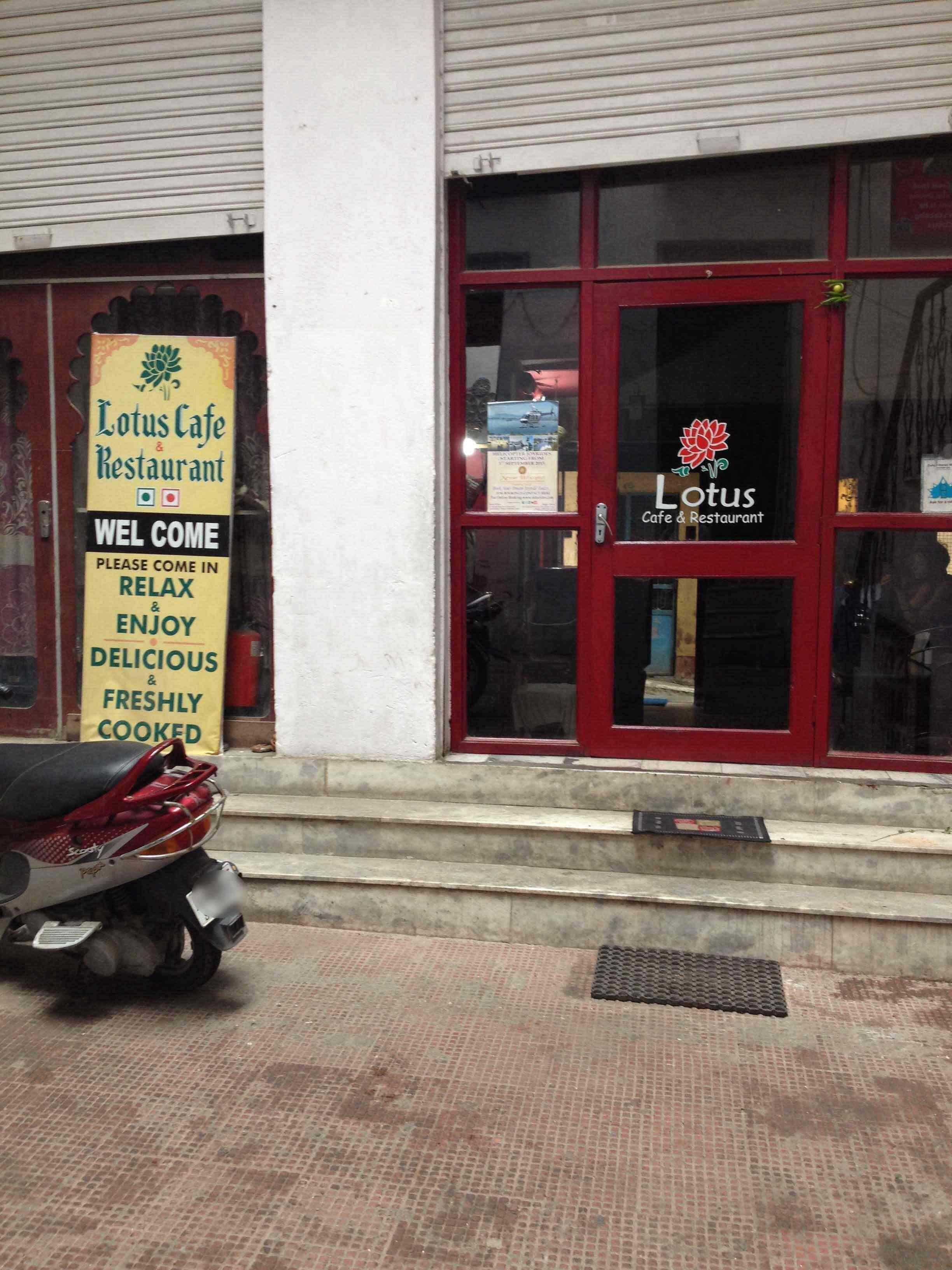 Lotus Restaurant - Chandpole - Udaipur Image