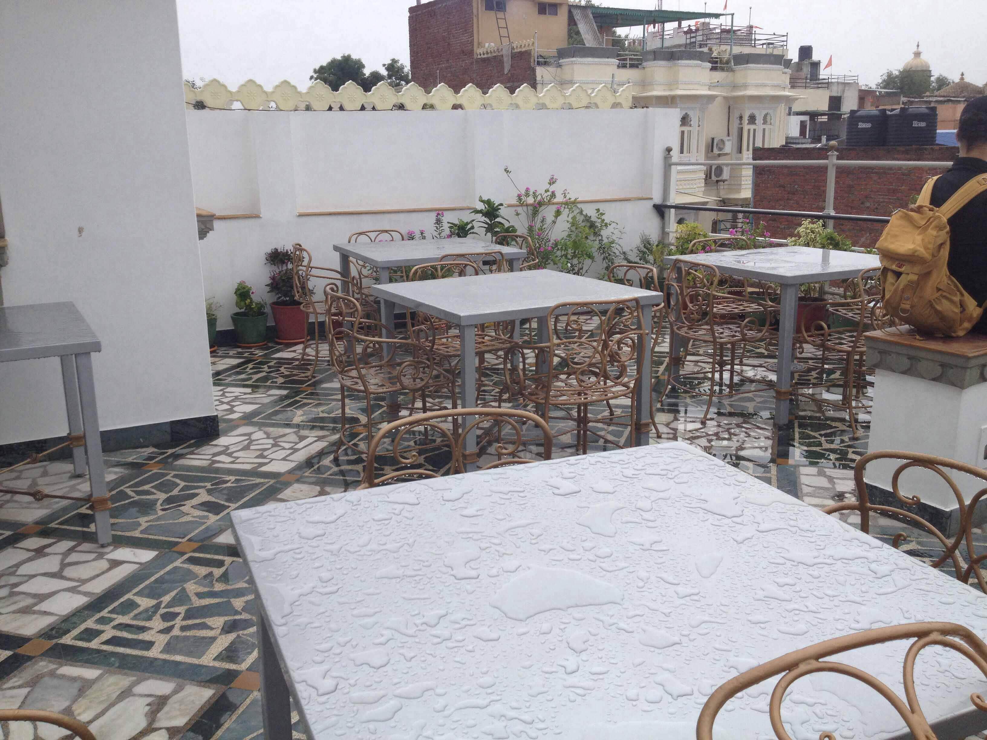 Poonam Haveli Rooftop Restaurant - Chandpole - Udaipur Image