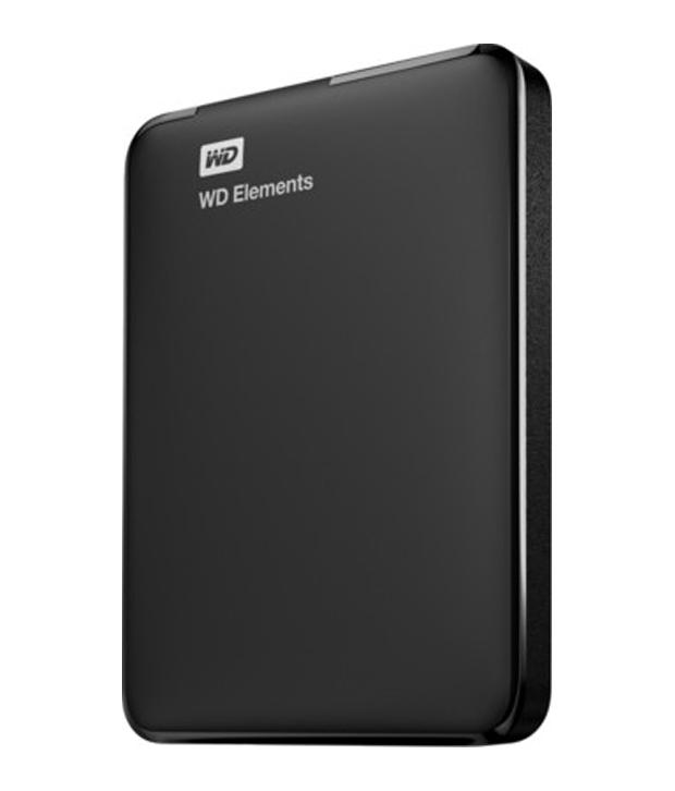 WD Elements 1TB Portable External Hard Drive Image