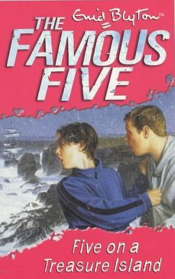 Five On A Treasure Island - Enid Blyton Image