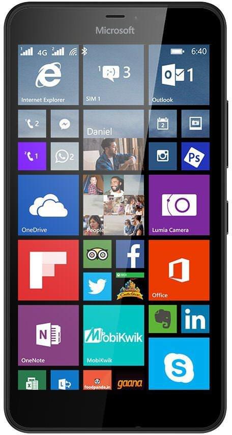 Microsoft Lumia 640 XL LTE Dual SIM Image
