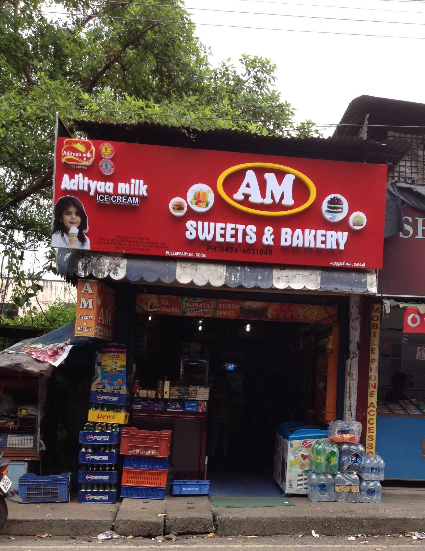 A.M. Sweets & Bakery - Pullepady - Kochi Image
