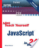 Sams Teach Yourself JavaScript in 24 Hours - Michael G Moncur Image