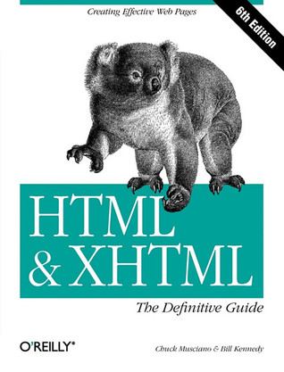 HTML & XHTML: The Definitive Guide - Chuck Musciano Image