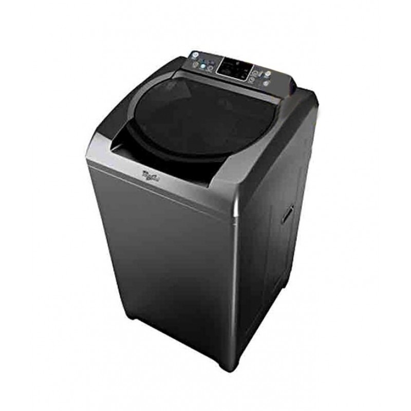 WHIRLPOOL 360 DEGREE BLOOM WASH 8 KG TOP LOADING FULLY AUTO GRAPHITE ...