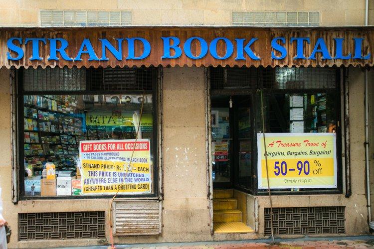 Strand Book Stall - Fort - Mumbai Image