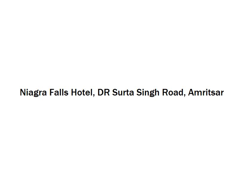 Niagra Falls Hotel - DR Surta Singh Road - Amritsar Image