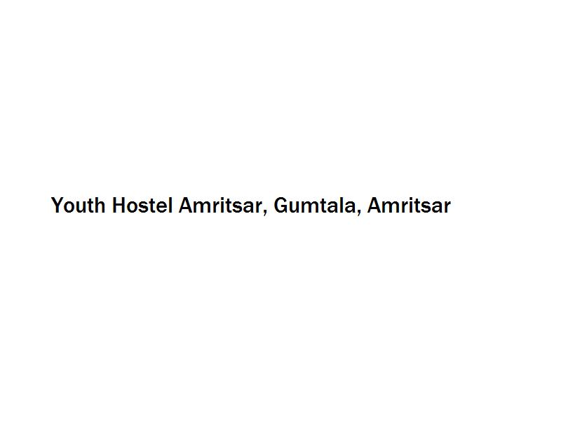Youth Hostel Amritsar - Gumtala - Amritsar Image
