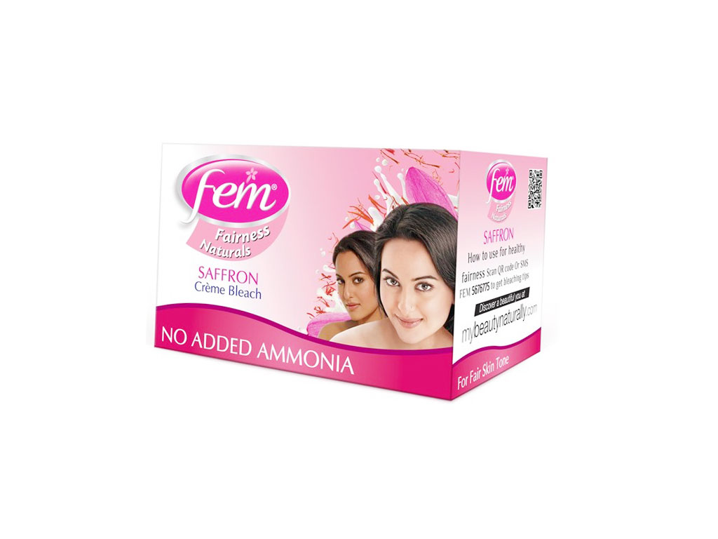 Fem Saffron Fairness Creme Bleach Image