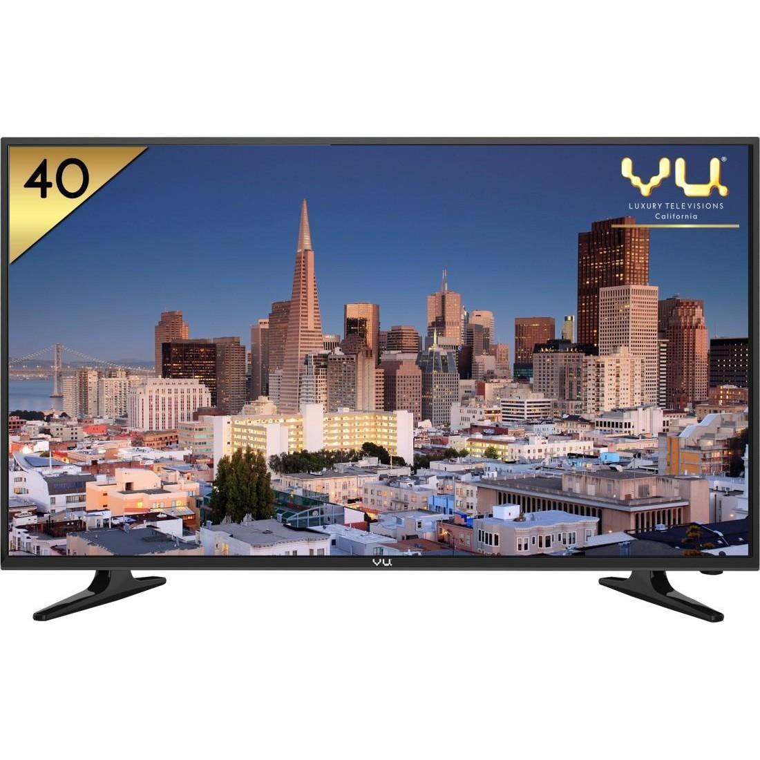vu 40d6575 102 cm 40 led tv full hd reviews price. Black Bedroom Furniture Sets. Home Design Ideas
