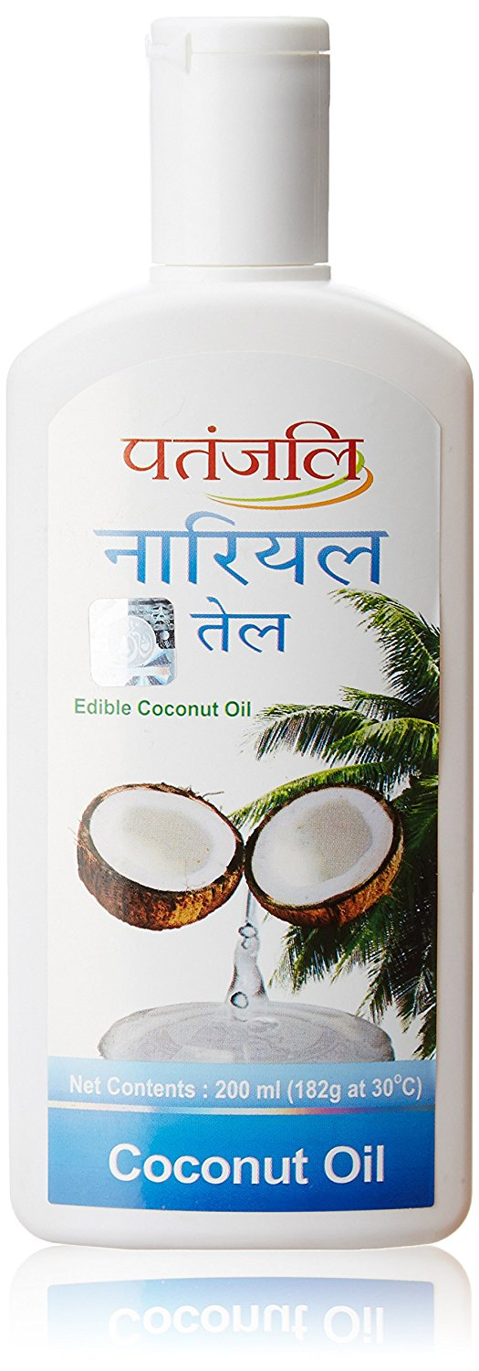 Patanjali Coconut Hair Oil Image