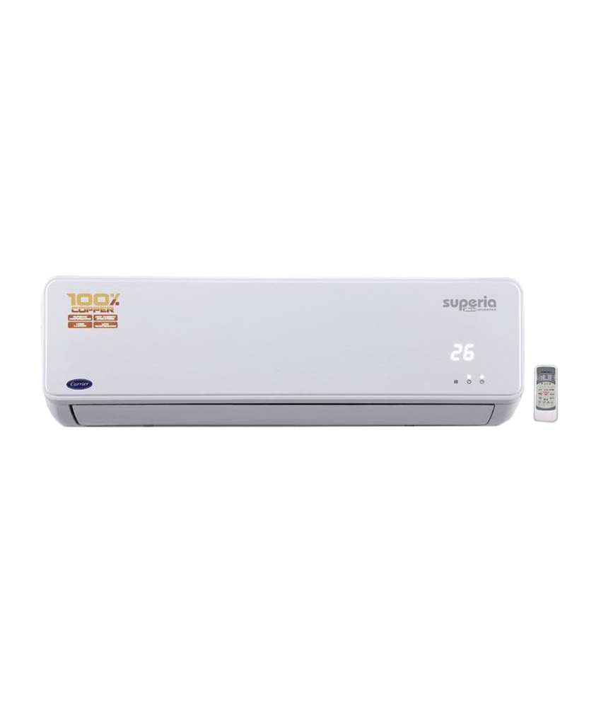 Carrier Superia Plus K+ 1.5 Ton Inverter Split AC Image
