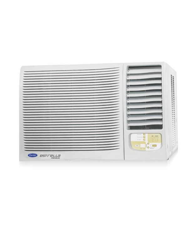 Carrier estrella premium 1 5 ton 5 star window ac for 1 ton window ac price in kolkata