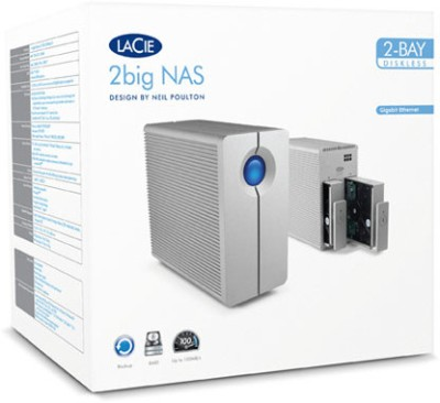 Lacie 10 Tb Wired External Hard Drive Image