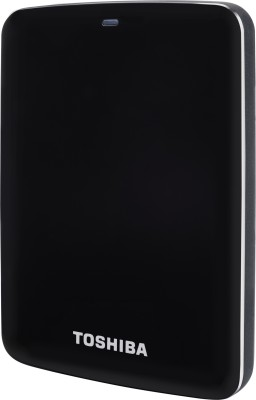 Toshiba 1Tb Canvio Connect Portable External Hard Drive Image