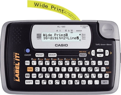 Casio Home Model KL120 Label Printer Image