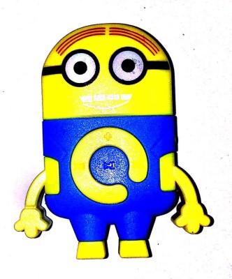 Captcha Minions Cartoon Design Mp3 Player Image
