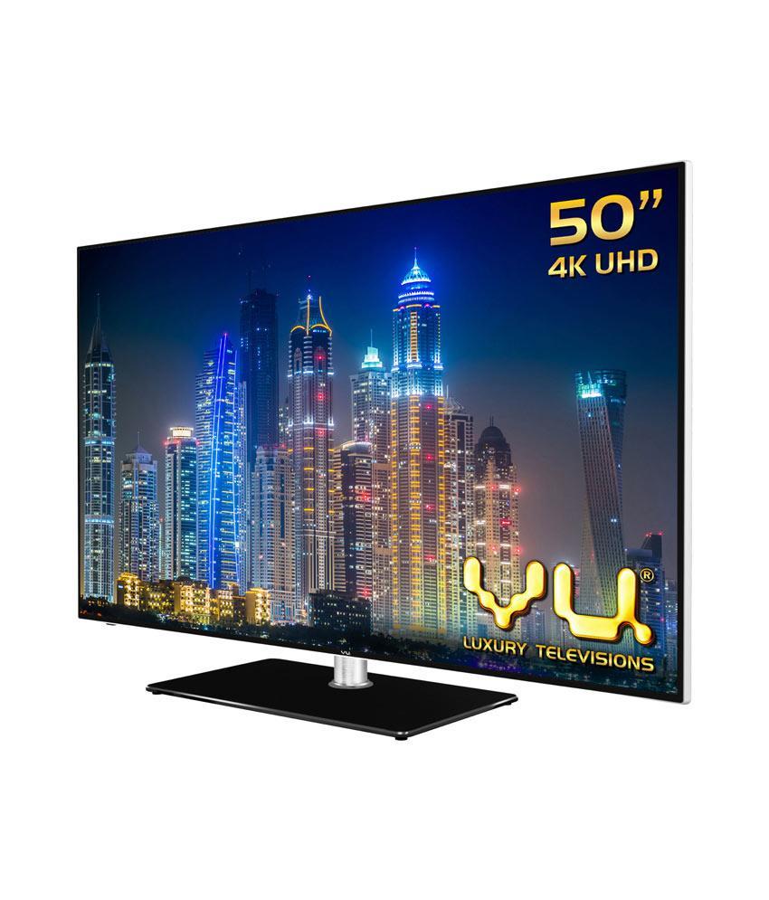 Vu 42D6455 107 cm (42) LED TV (Ultra HD (4K), Smart) Image