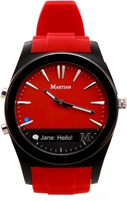 Martian MN200RBR Notifier Analog Watch Smartwatch Image