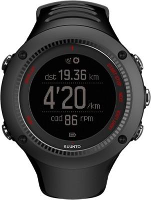 Suunto SS021257000 Ambit3 Run HR Digital Smartwatch Image