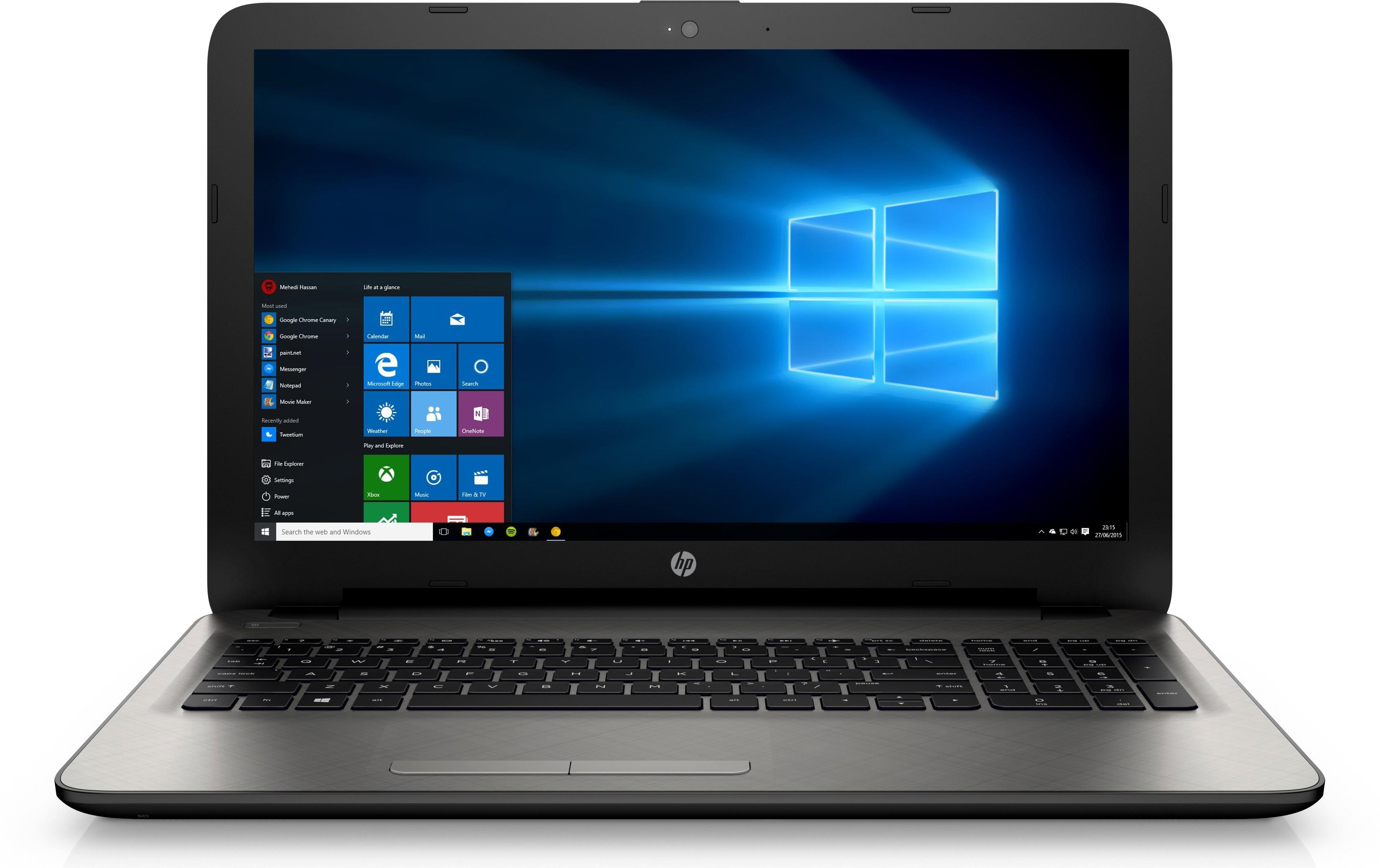 HP 15 ac126TX Notebook (N8M31PA) Image