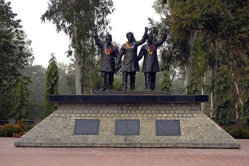 Hussainiwala Border Image