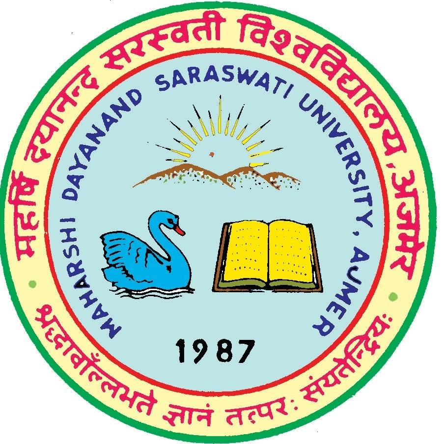 Image result for Maharshi Dayanand Saraswati University (MDSU), Ajmer