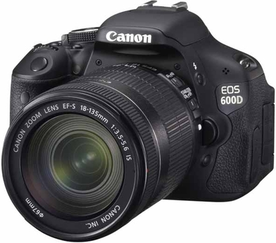 Canon EOS 600D (Body with EFS 18135 mm IS II Lens) DSLR Camera Image