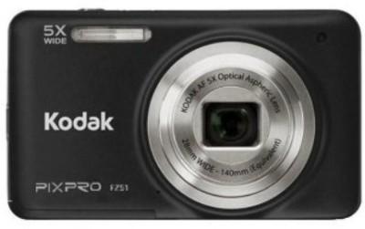 Kodak Pixpro FZ51(28mm Wide Lens) Point & Shoot Camera Image