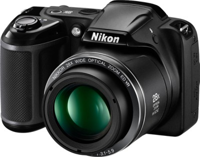 Nikon Coolpix L340 Point & Shoot Camera Image