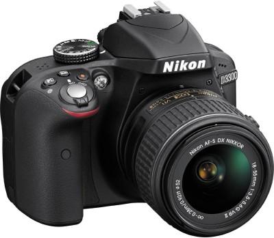 Nikon D3300 with AFS 1855 mm VR Kit Lens II + AFS 55200 mm VR Kit DSLR Camera Image